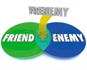 19912316-the-word-frenemy-defined-by-a-venn-diagram-of-intersecting-circles-between-friend-and-enemy