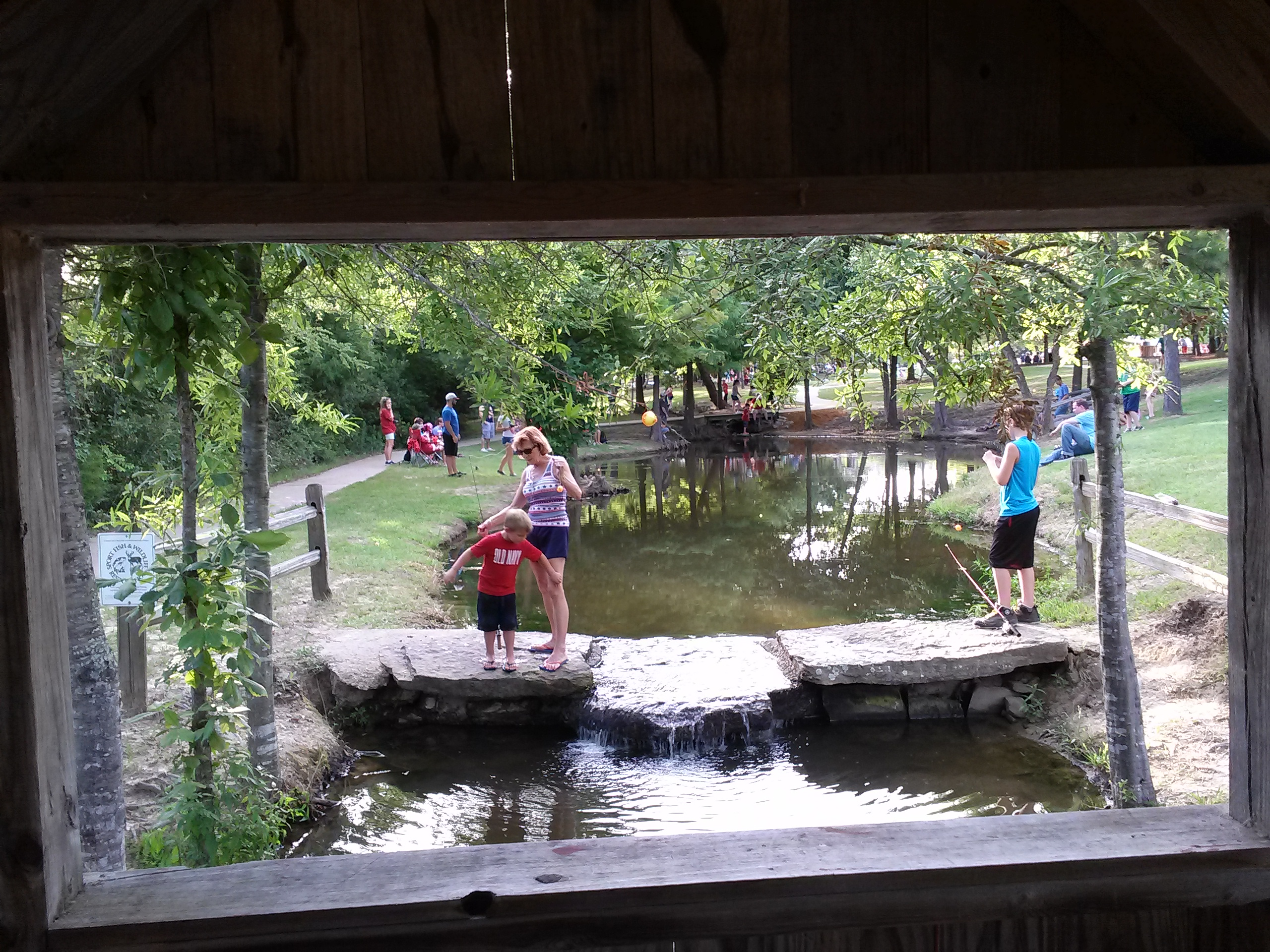Texas Freshwater Fishery Center Athens, Texas 2015 | Albert