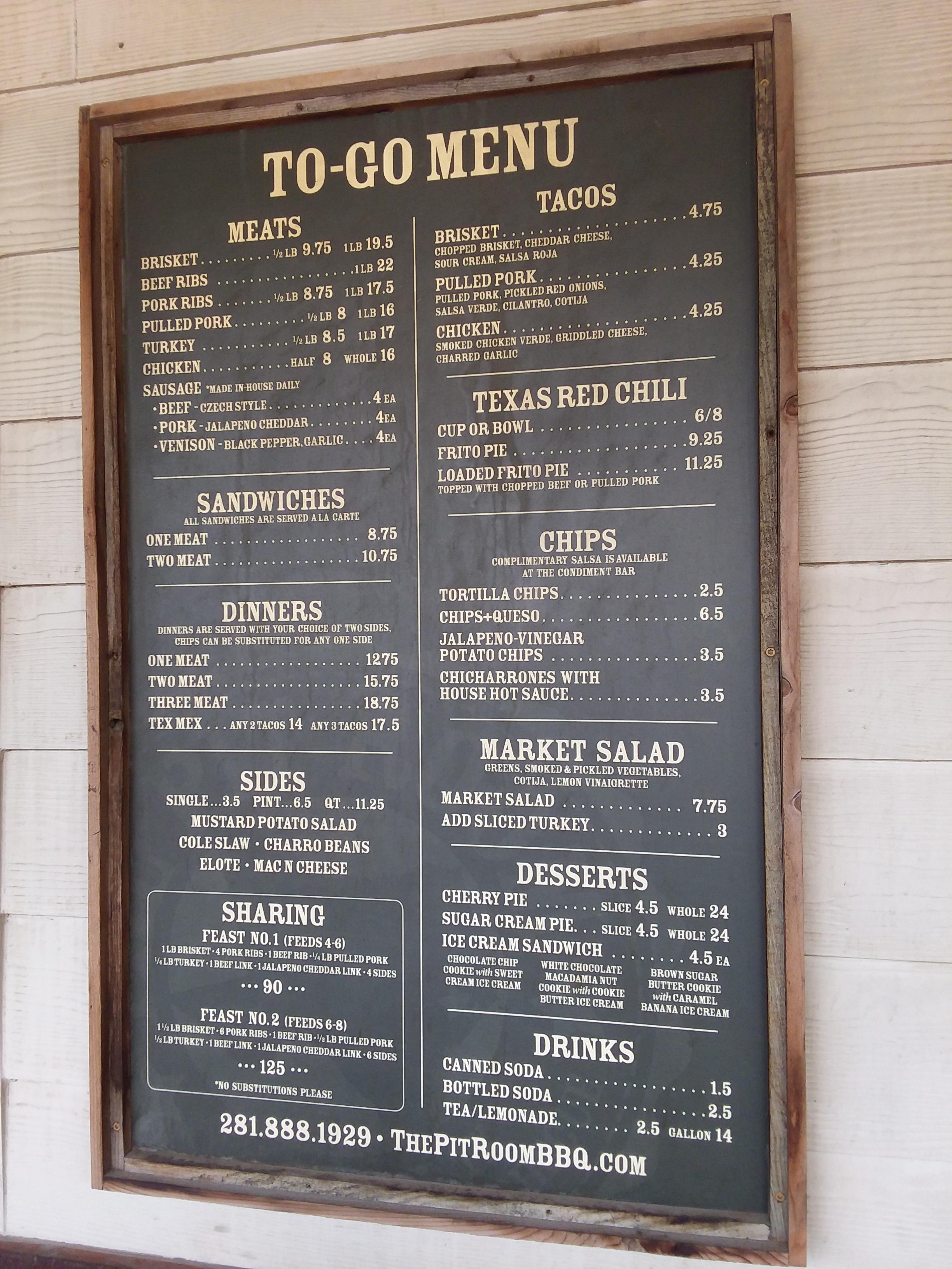 Bbq Restaurant Houston Albert Moyer Jr